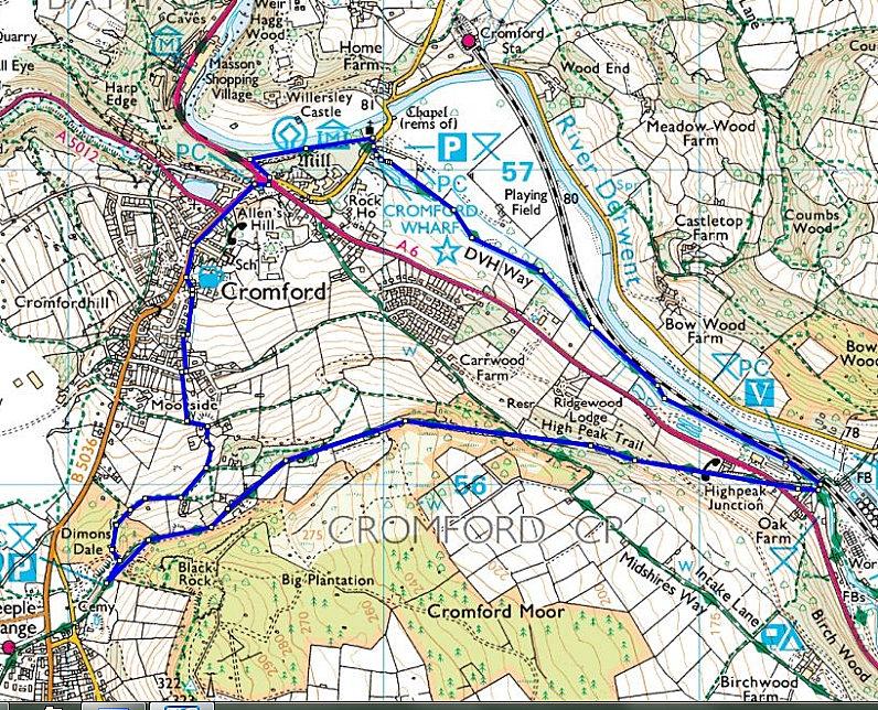 Cromford and Highpeak trail
