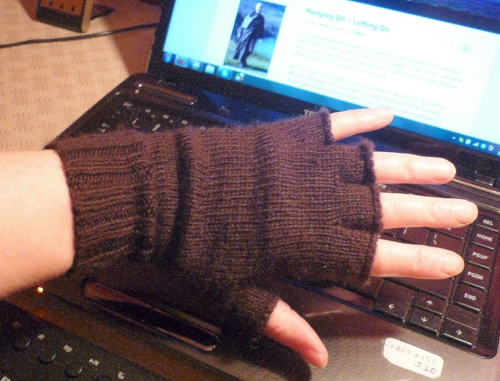 New work gloves.