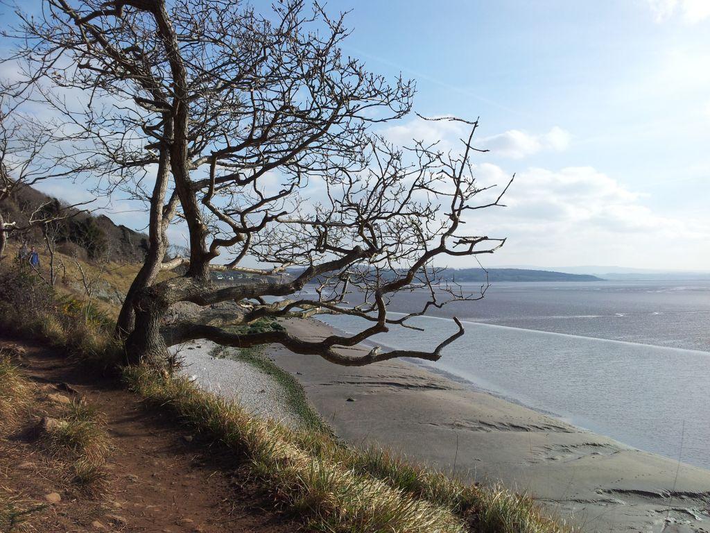 Walkin' on the edge of the bay...