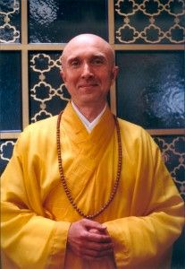 Rev. Master Daizui at Throssel Hole Buddhist Abbey