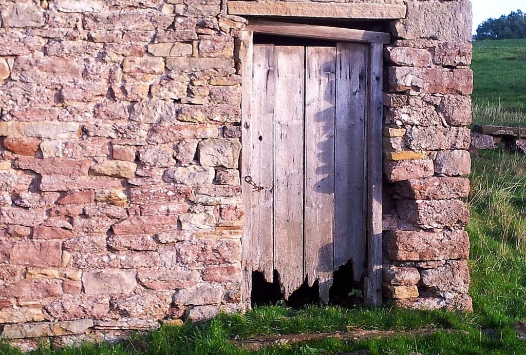 Field barn door.