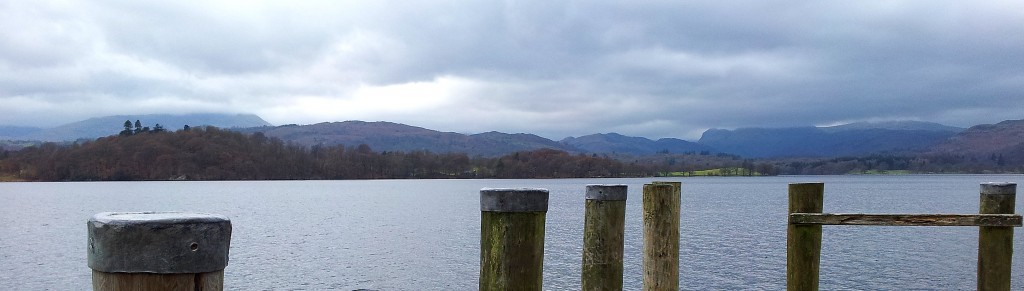 Dock posts by Windermere.