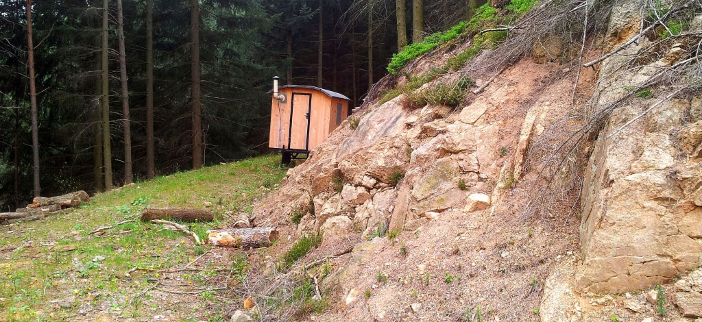 Tiny House in the forest….