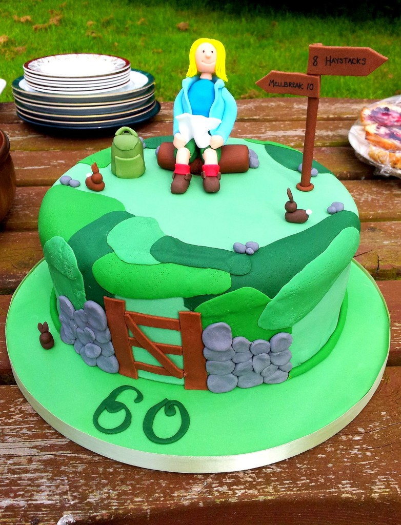A walkers cake.