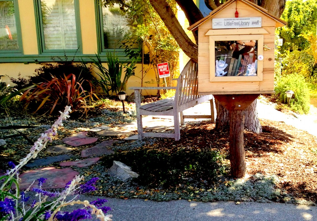 Little library for little people. And big people too.