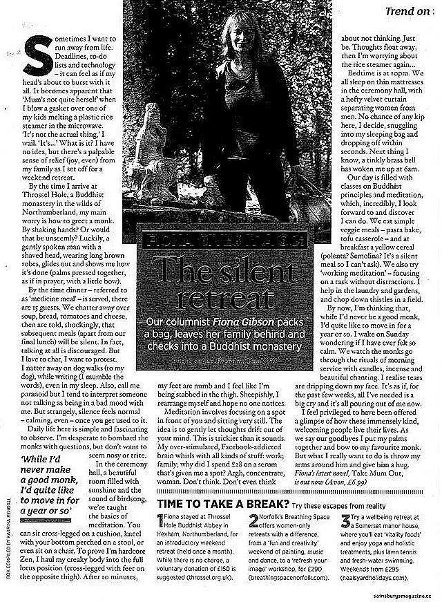 1 silent retreat article