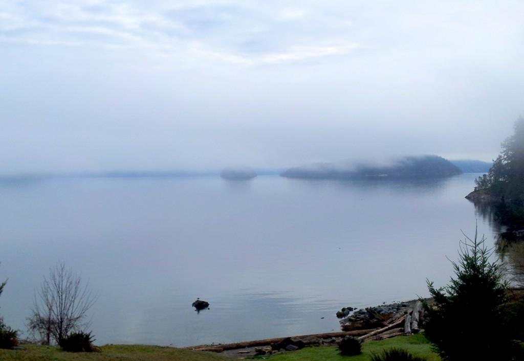 Desolation Sound in reflective mood.