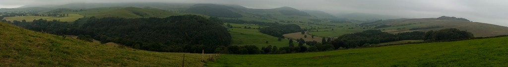 up high in forest of Bowland