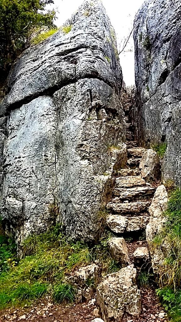 Fairy Steps, Arnside Cumbria.