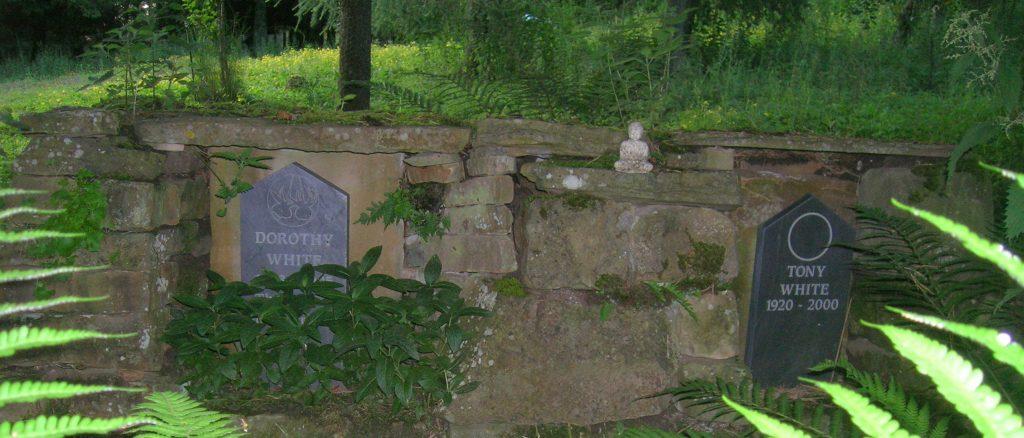 white-grave