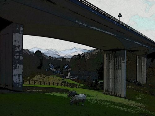 Grisedale_Pike_through_Greta_Bridge.jpg